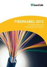 NY Fiberkatalog 2012 - General Cable Nordic AS