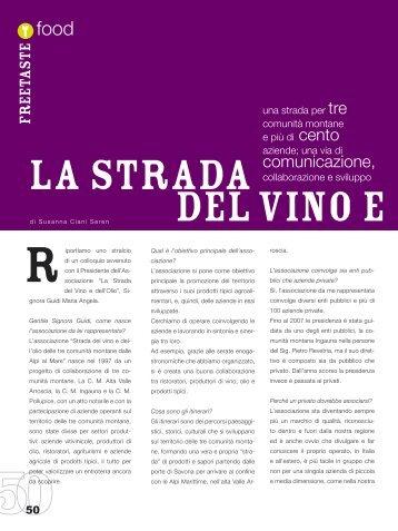La Strada del vino e dell'olio - Freepressmagazine.it