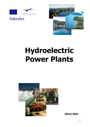 small hydroelectric power plant pdf