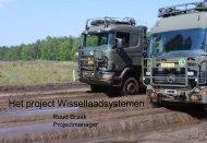 Het project Wissellaadsystemen