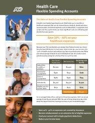 FSA Health Care Brochure