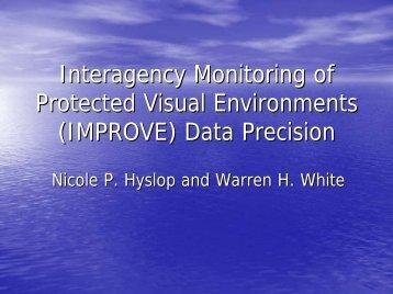 Guidance in aerosol data interpretation