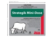 Strategik Mini-Dose Worming Drench for Cattle - Pest Genie