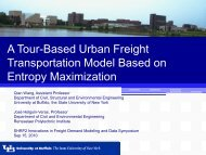A Tour-Based Urban Freight Transportation Model Based on ...
