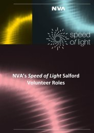 NVA's SPEED OF LIGHT SALFORD