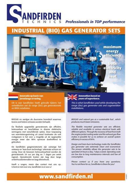 Industrial Gas Generator Sets 6 NLEN 2