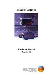 miniHiPerCam - ELTEC Elektronik AG