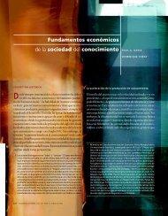 Fundamentos económicos de la sociedad del conocimiento PAUL A ...