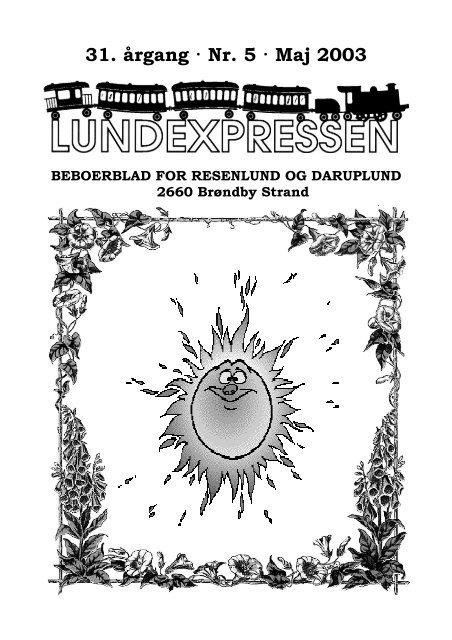 31. årgang · Nr. 5 · Maj 2003 - lundens.net