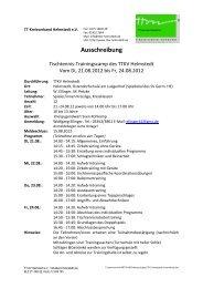 beigefügten Ausschreibung - Tischtennis-Kreisverband Helmstedt eV