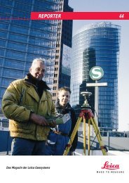 REPORTER 44 - Leica Geosystems