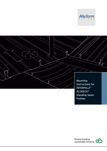 Mounting Instructions for INTERFALZ® ALUDECK® Standing Seam ...