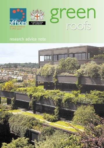 research advice note - Greenroofs.com