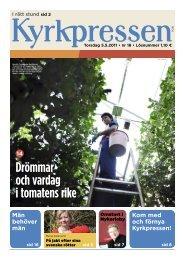 Kyrkpressen 18/2011 (PDF: 9.2MB)