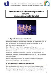 Vorstellung Gym Wiehl auf UniHomepage - Schulen in der Region ...