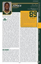 PRO CAREER 2007 SEASON - Packers.com, the official website of ...
