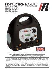 Download 200HF User Manual - Inverter Fusion Ltd