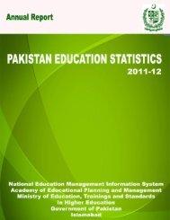 PakistanEducationStatistics2011-12