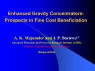 Enhanced Gravity Concentrators - Office of Fossil Energy