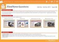FirstNewsQuestions 30th Nov - 6th Dec 2012 Issue 338