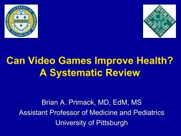 Can Video Games Improve Health? A Systematic Review