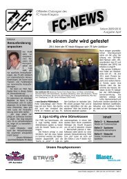 FC-NEWS 0910 2 - FC Hasle-Rüegsau
