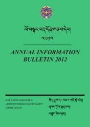 Annual Bulletin 2012 - Ministry of Works and Human Settlement