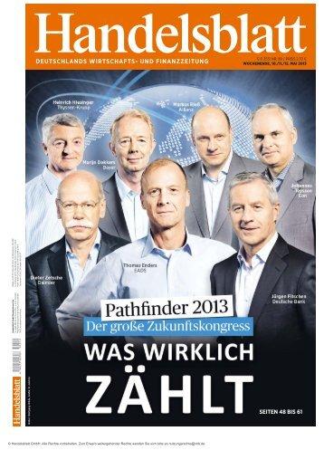 deutschlands wirtschafts- und finanzzeitung - Handelsblatt Pathfinder
