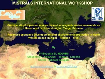 Concilier développement économique et sauvegarde ... - MISTRALS