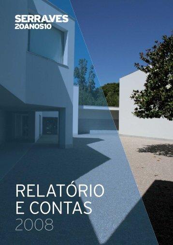 Relatório e Contas 2008 - Fundação de Serralves