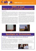 Issue 3, 2011 - The Society of Hospital Pharmacists of Australia - Page 3