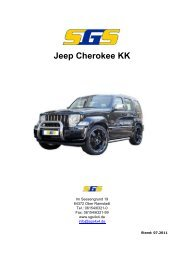 Jeep Cherokee KK - SGS