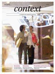 Context N° 12 2010 - Salaire et consommation (PDF ... - Sec Suisse