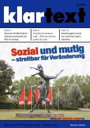 Magazin der PDS Sachsen-Anhalt · Oktober 2004