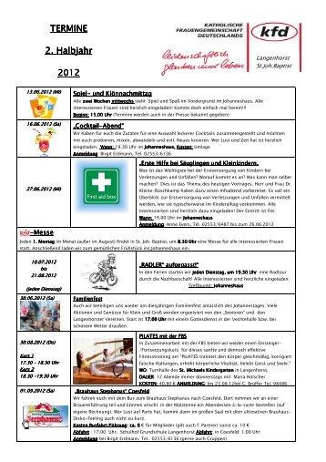 Termine NOV 2012 - Website der Gemeinde St. Lambertus Ochtrup