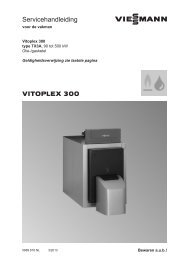 Service- handleiding1.2 MB - Viessmann