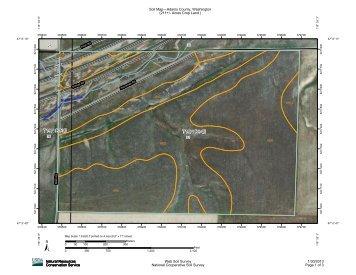 Soil Survey & Map - Booker Auction Co.