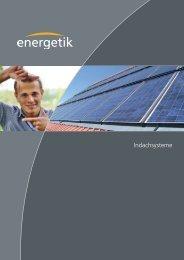 Indachsysteme - Energetik Solartechnologie-Vertriebs GmbH