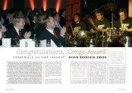 Congratulations, Conga-Award! - Convention-International