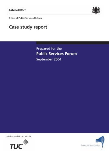 Case study report - Management and Business Studies Portal