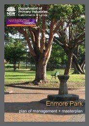 Enmore Park Plan of Management - Land