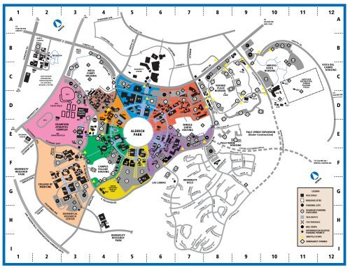 uci main campus map Uci Campus Map Music University Of California Irvine uci main campus map