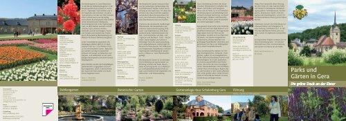 Parks und Gärten in Gera - T-Com