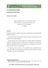 Las formaciones ideales en la anorexia nerviosa - Asociación ...