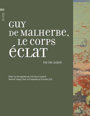 Guy de Malherbe, le corps - Art Absolument