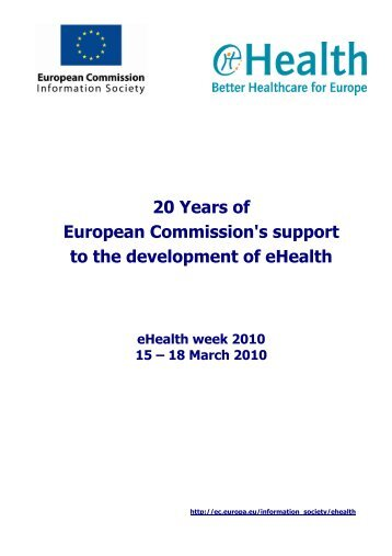 1) an updated title & authors list with affiliations and (2) - eHealth Week