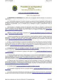 15/09/1965 - Lei Nº 4.771 - Institui o novo Código Florestal. - Udop