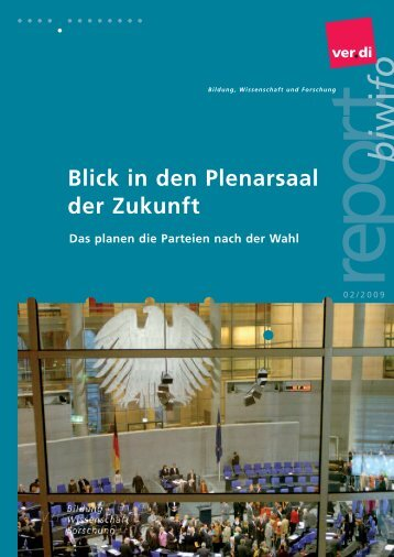 biwifo report 2/2009 (pdf-Datei) - Netzwerk Weiterbildung