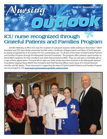 Nursing Outlook Newsletter WINTER 2011-12 WEB.indd - Marquette ...