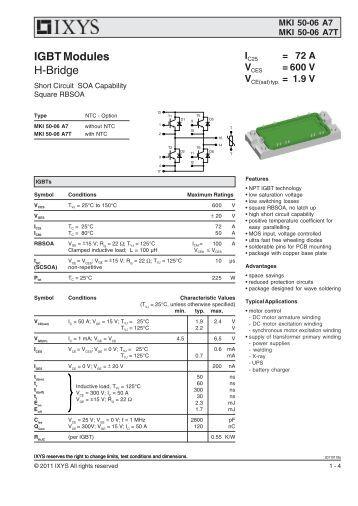 igbt modules power management magnetic materials